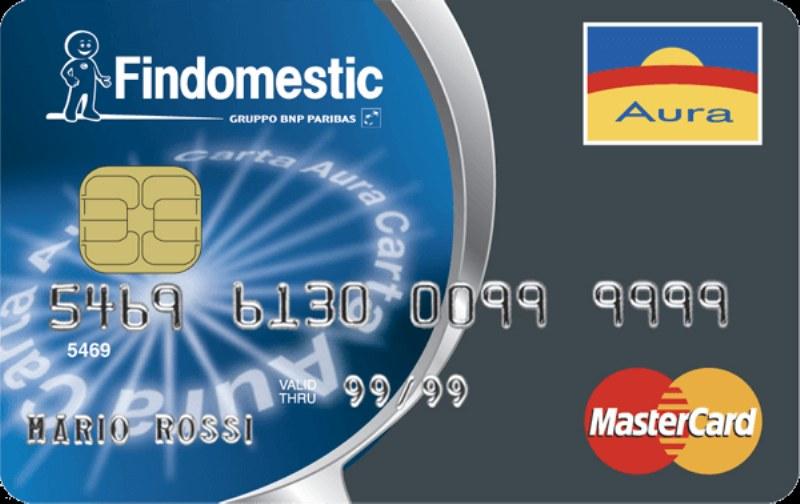 E' possibile avere la carta Aura Findomestic senza avere busta paga?